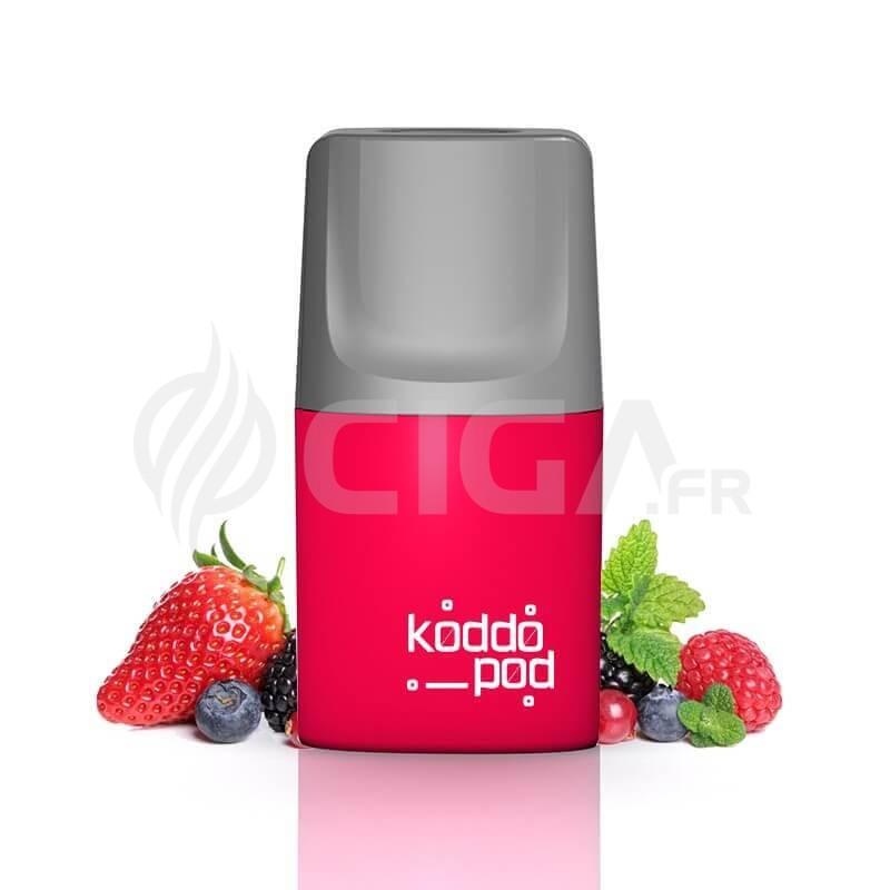 Pod Fruits Rouges - Le French Liquide