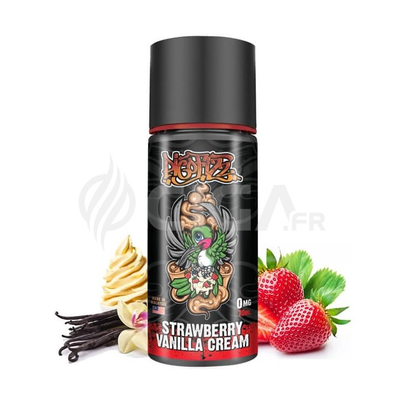 E-liquide Strawberry Vanilla Cream 70ml de My's Vaping.