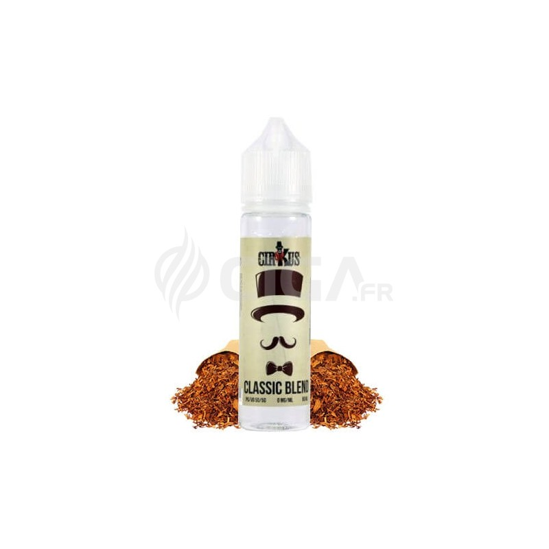 E-liquide Classic Blend en 50ml de Cirkus Authentic.
