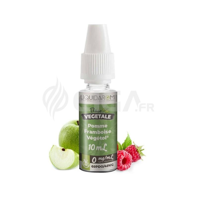 E-liquide Pomme Framboise au Végétol de Liquidarom Base Végétale.
