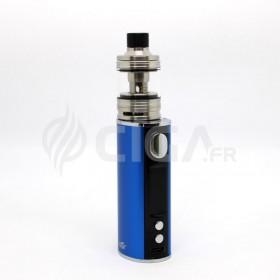 Cigarette électronique iStick T80 bleu + Melo 4 de Eleaf.