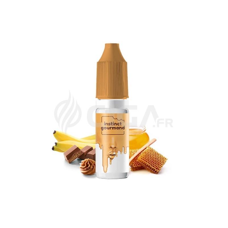 E-liquide Honey & Milk de Alfaliquid Instinct Gourmand.