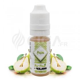 E-liquide Poire Pur Fruit de Solana.
