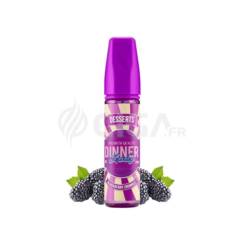 Blackberry Crumble ZHC- Dinner Lady