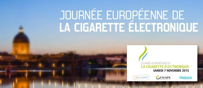 Journée européenne de l' ecig à toulouse ce samedi!