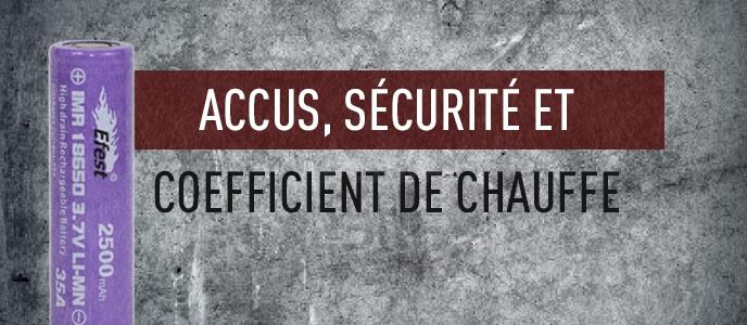 Refaire ses résistances : accus, sécurité et coefficient de chauffe