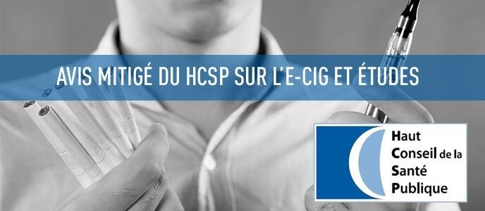 Avis mitigé du HCSP sur l'e-cig et études : des lueurs d'espoir ?