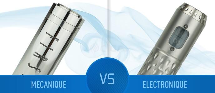 Quel mod choisir : mécanique ou électronique ?