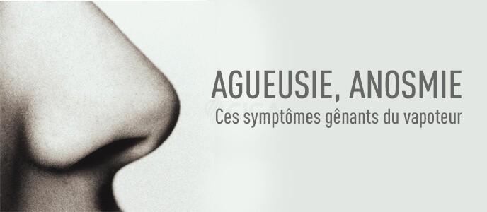 Agueusie, anosmie et cigarette électronique : causes et traitements