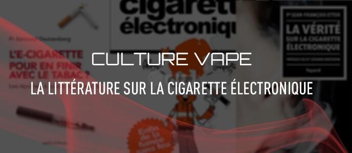 Culture vape : les livres sur la cigarette électronique